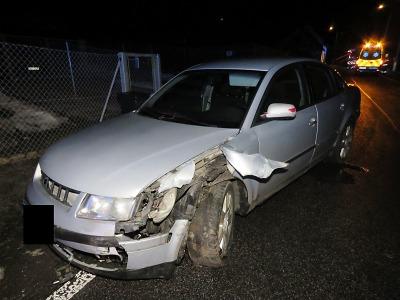 V Kokoníně se střetla dvě auta, jeden z řidičů měl pozitivní test na drogy