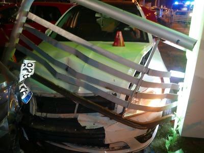 Celkem sedm aut poškodil řidič z Jablonecka pod vlivem alkoholu a drog