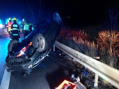 Náledí způsobilo po ránu v Libereckém kraji mnoho nehod