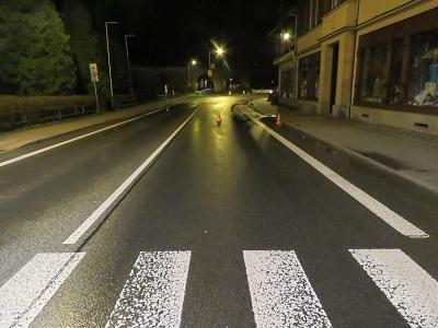 Policie hledá svědky dopravní nehody v Tanvaldě