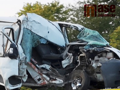 Po tragické nehodě u Jítravy zemřeli dva lidé