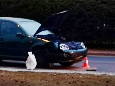 Ve Vrkoslavicích se střetlo auto s motorkou
