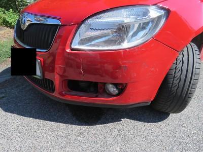 Ke střetu dvou aut došlo v Železném Brodě, jeden z řidičů před jízdou pil