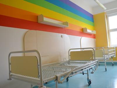 Dokončili rekonstrukci lůžkové pediatrie v jablonecké nemocnici