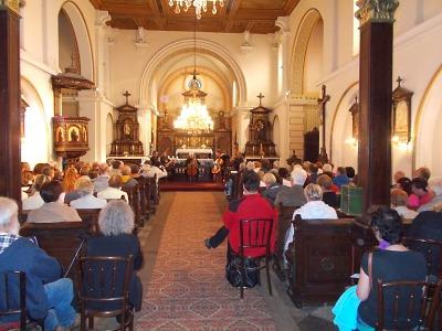 V lučanském kostele vystoupil M. Nostitz kvartet