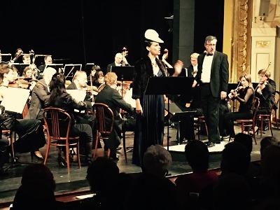 Novoroční koncert v jabloneckém divadle proběhl ve svátečním duchu