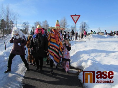 Obrazem: Novoveský masopust 2019