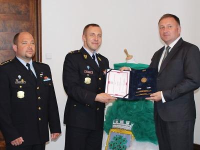 Spolupráci Jablonce a rýnovické věznice ocenil ředitel Vězeňské služby
