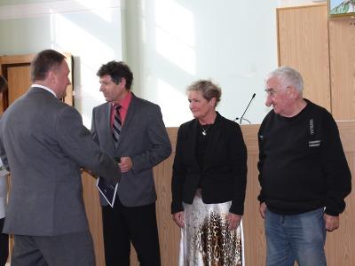Petr Beitl poděkoval dlouholetým jabloneckým zastupitelům za spolupráci