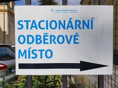 Liberecký kraj startuje nový systém objednávek na koronavirové testy
