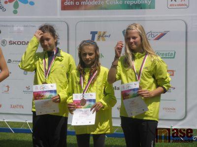 Na olympiádě dětí a mládeže zlato pro triatlonistu Bižuterie