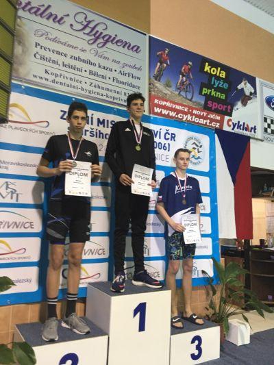 """Mladí plavci mají tentokrát """"jen"""" dvě medaile"""