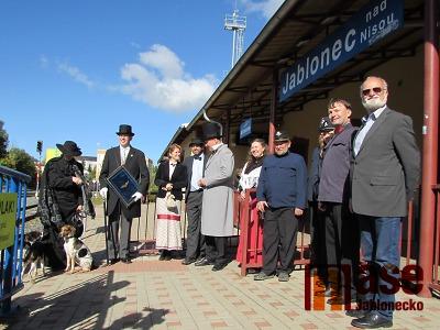Obrazem: Oslavy 130. výročí železnice Liberec - Jablonec