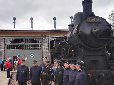 Obrazem: Lokomotiva Sedma oslavila v Kořenově 100 leté jubileum