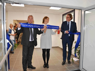 Liberecká střední škola otevřela rekonstruovaný domov mládeže