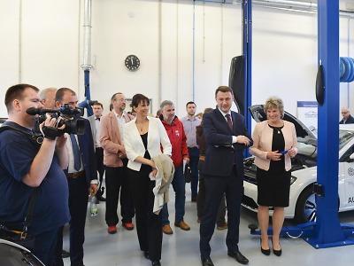 Liberecký kraj bude nyní modernizovat vybavení na již fungujících COV