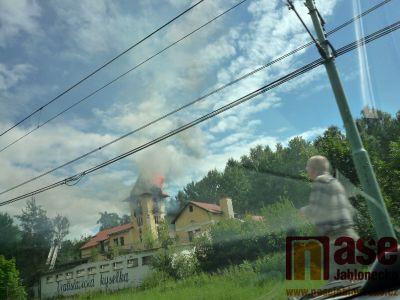 Požár Vratislavické Kyselky