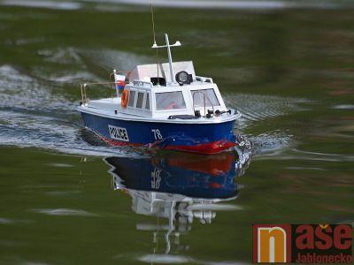 Obrazem: Závody lodních modelů