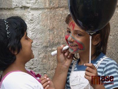 Obrazem: Den dětí oslavili ve Vikýři