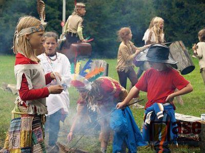 Obrazem: Indiáni z Vítova
