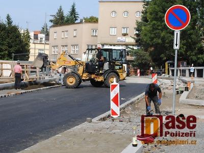 Konečně finišuje rekonstrukce Palackého ulice v Turnově