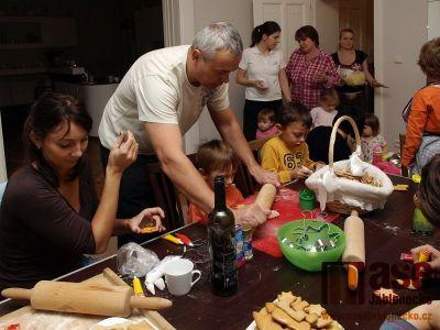 Obrazem: Vánoční pečení ve Studiu Fit