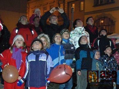 Obrazem: Silvestrovské oslavy v MC Jablíčko