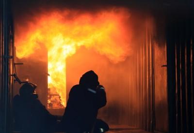 Jablonečtí hasiči se vypořádávali s peklem