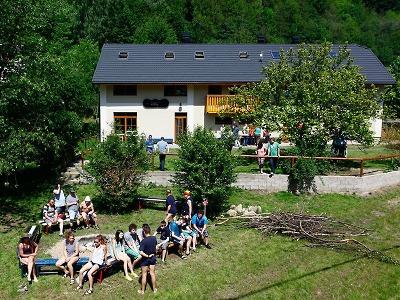 Při Greenway Jizera byl otevřen nový penzion a restaurace Křížky