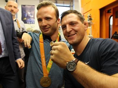 Olympionici z Ria Petráček a Krpálek jsou na nových mincích z Jablonce