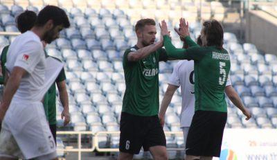 O vítězství fotbalistů Jablonce rozhodly penalty