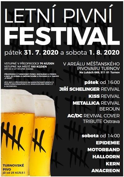 Pivní festival láká na rockové kapely do Turnova