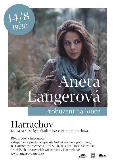 Aneta Langerová zazpívá v Harrachově