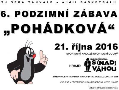 Pozvánka na tradiční sportovní zábavu do Tanvaldu