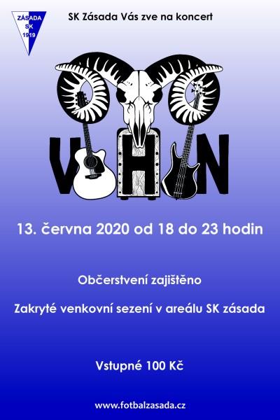 V Zásadě zahraje kapela Vohon