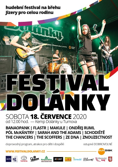 Festival Dolánky se letos koná jen s českými kapelami