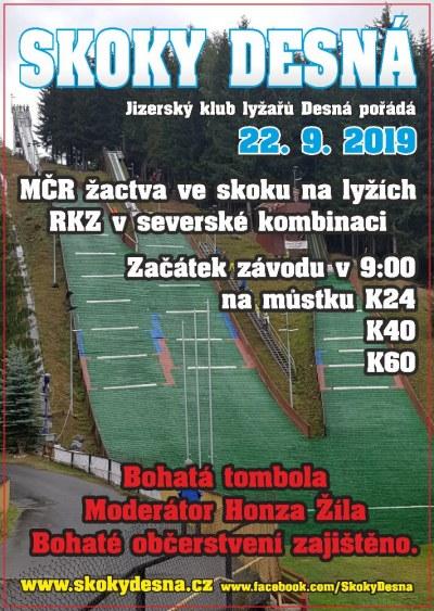 JKL Desná pořádá MČR ve skoku na lyžích a RKZ v severské kombinaci