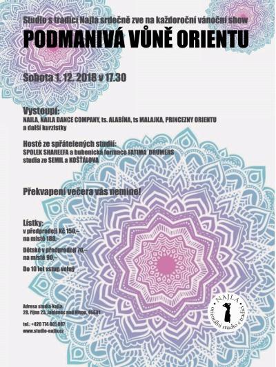 V jabloneckém Eurocentru Studio Najla opět představí orient show