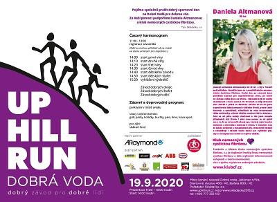 Up Hill Run Dobrá Voda opět podpoří nemocné s cystickou fibrózou