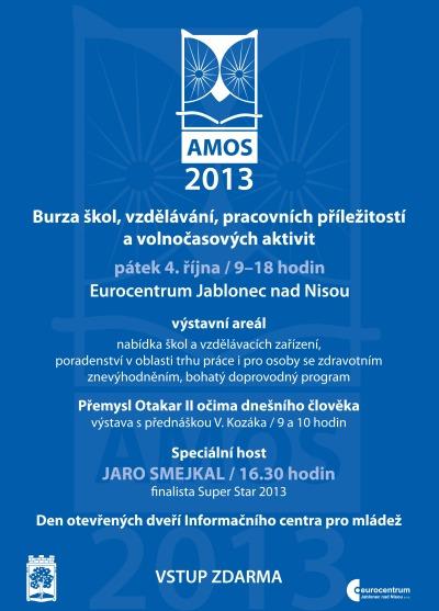 Burza škol AMOS 2013 obsadí v pátek jablonecké Eurocentrum - Naše ... 9addcf477a