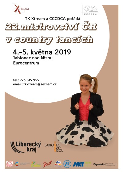 Jablonecké Eurocentrum o víkendu obsadí country tanečníci