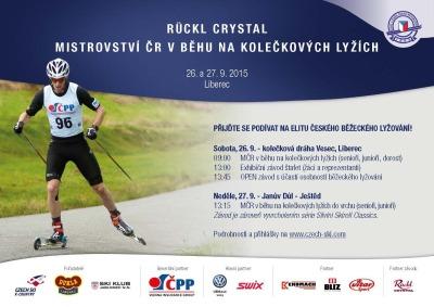 Nejlepší lyžaři se v Liberci utkají o tituly v běhu na kolečkových lyžích