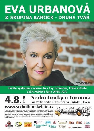 Eva Urbanová zazpívá v Sedmihorkách rockové hity