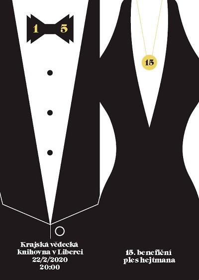 Patnáctý benefiční ples hejtmana bude v krajské knihovně