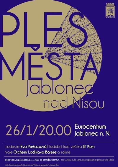 Na ples města Jablonec s Jiřím Kornem