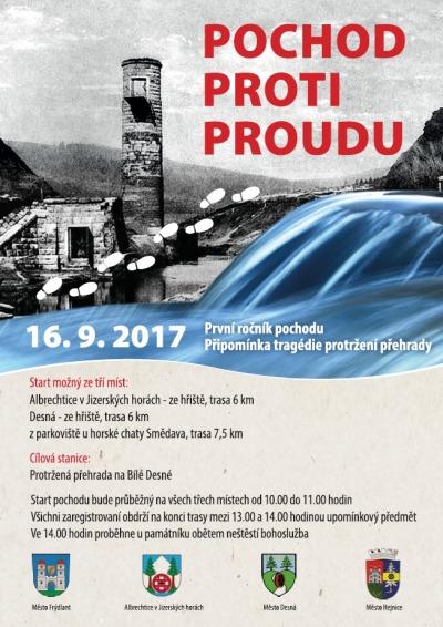 Turisté půjdou proti proudu na Protrženou přehradu
