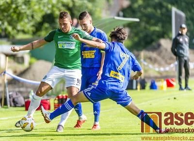 Obrazem: Fotbalový svátek ve Velkých Hamrech