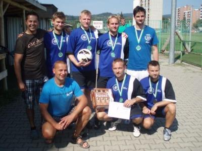 Policejní turnaj v malé kopané vyhrála Česká Lípa, stříbrný je Jablonec