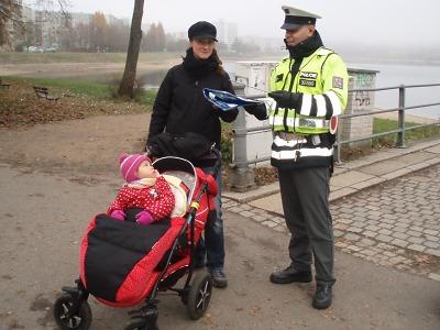 Policisté se zaměřili na viditelnost chodců a spolujezdce ve vozidlech