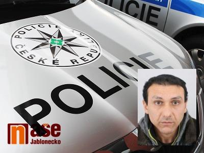 Policie pátrá po muži z Teplic, mohl by se zdržovat na Jablonecku